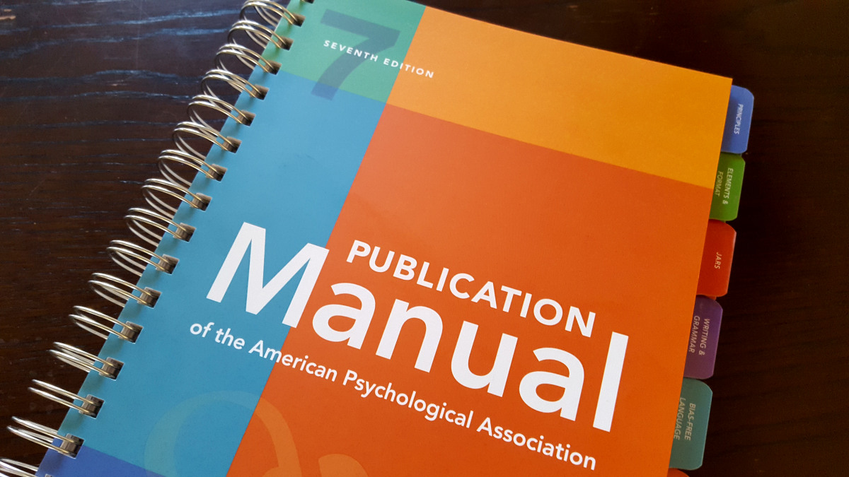 APA Format 7th Edition